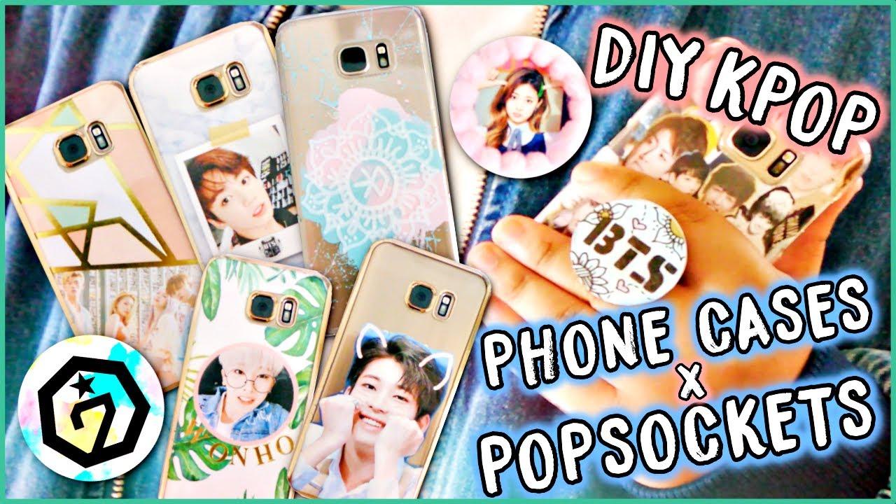 Diy Kpop Book Cover ~ Diy kpop phone cases popsockets bts exo etc