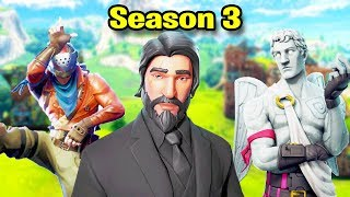 Fortnite SEASON 3 Montage! (Best Moments, Highlights, & Nostalgia)