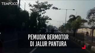 Download Video Mudik Lebaran 2018, Pemudik Bermotor di Jalur Pantura MP3 3GP MP4