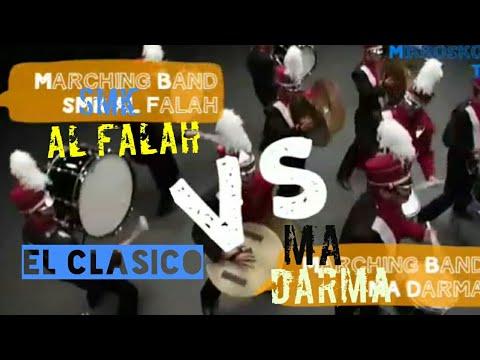 MARCHING BAND SMK Al FALAH Vs MA DARMA WINONG