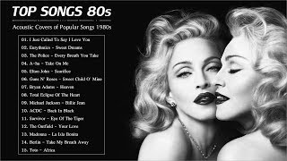 Acoustic 80s | The Best Acoustic Covers of Popular Songs 1980s
