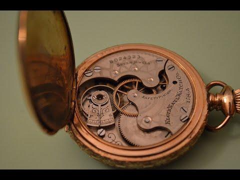 1898 Elgin Grade 6 #206 Seven Jewel Pocket Watch.