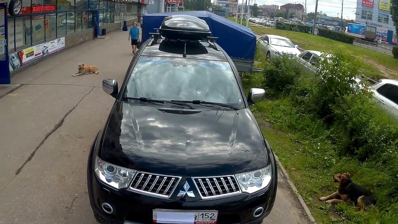 Багажник Бокс на крышу Mitsubishi Pajero Sport (2008-2015) в .