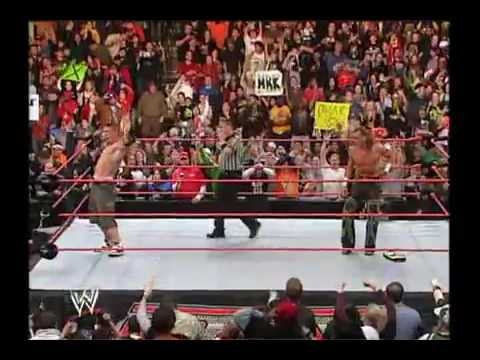 Shawn Michaels and John Cena Win Tag Titles