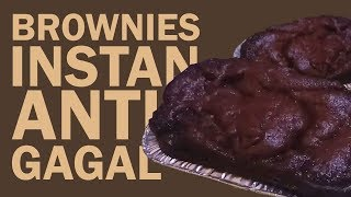 Brownies kukus simple nutricake