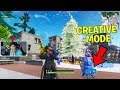 *JUST FOUND* CREATIVE MODE GLITCH on Fortnite Battle Royale Map!