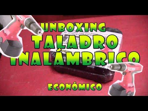 Taladro Inalambrico Economico - Unboxing