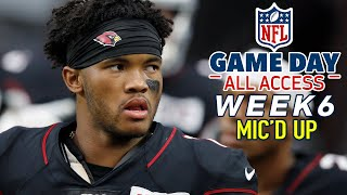 "NFL Week 6 Mic'd Up, ""I should have started you in fantasy!"" 