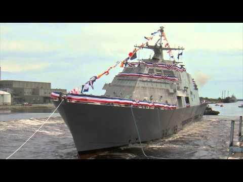 LCS 9 Little Rock Side Launch Freedom-Class