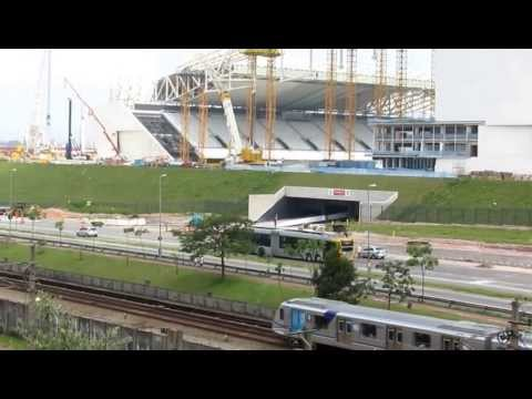 Obras do Estádio de Itaquera e do Entorno - 04012014