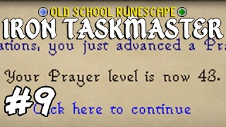 Old School RuneScape - Iron Taskmaster #9 I changed something in RUNESCAPE!
