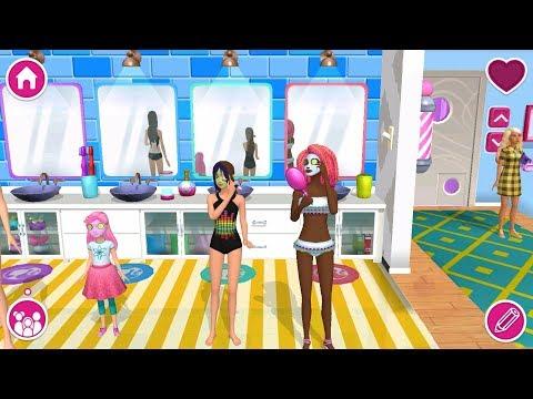 Barbie Dreamhouse Adventures - Barbie & Friends Dress Up, Spa, Cook - Simulation Game - P3