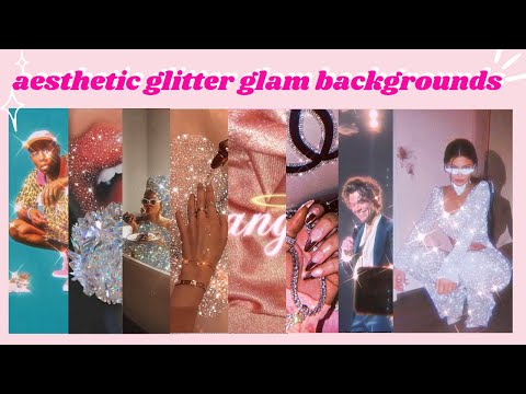 ✧aesthetic-90s-glitter-glam-wallpapers,-background-&-lock-screens-✧*✨