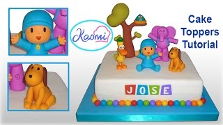 ANIMALS CAKE TOPPERS