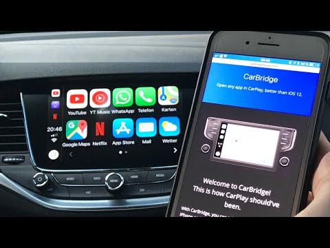 Alle Apps auf dem Carplay nutzen IOS10 - 12 4 (Carbridge) (TR Sub)