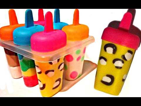Thumbnail: How To Make Play Doh Ice Cream Popsicles with Molds Fun and Creative for Kids