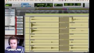 How to Quantize Acoustic Drums FOOLPROOF METHOD ProTools Tutorial #1