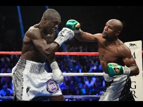 Floyd Mayweather Jr  vs  Andre Berto FULL FIGHT REAL VIEW