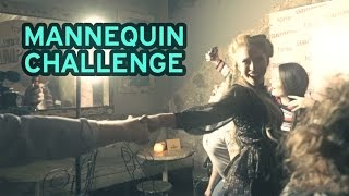 The serious side of the mannequin challenge