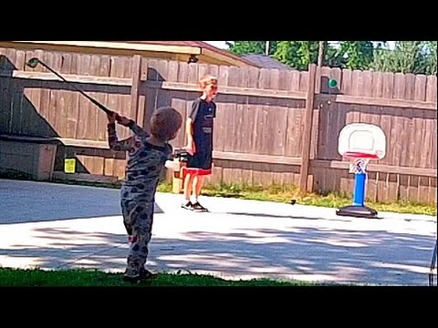 Amazing Trick Shots by a Three Year Old | Thats Amazing