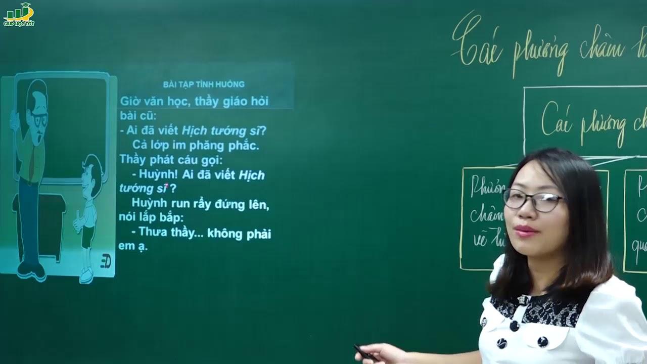 Ngữ Văn lớp 9 – Bài giảng Ôn tập Các phương châm hội thoại Ôn thi vào lớp 10