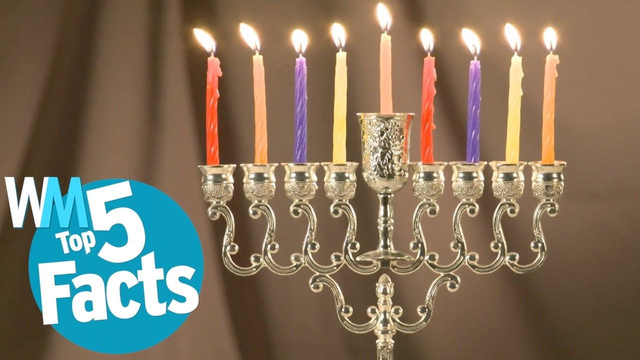 top 5 fun interesting facts about hanukkah youtube