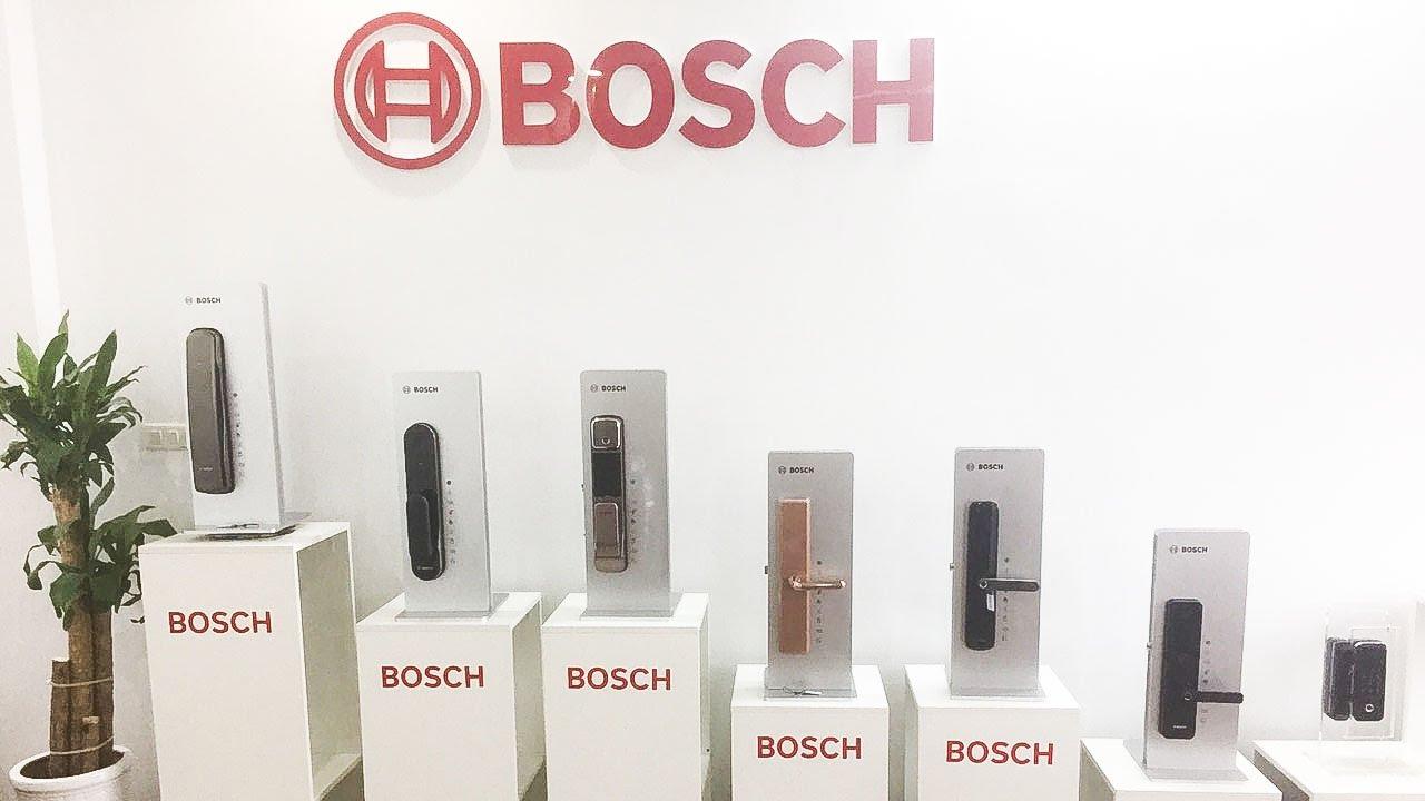 Hướng dẫn Lắp Đặt Mã Khóa cửa điện tử Bosch cho Biệt Thự đẹp nhất hiện nay || Bosch Smart Lock VN
