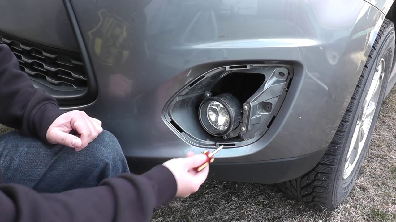 Mitsubishi Hid Fog Lights Install H11 Youtube