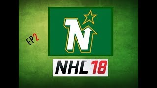 NHL 18 Expansion/Franchise Mode - Minnesota North Stars - Entry Draft