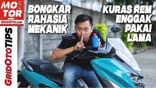 Cara Cepat Menguras Minyak Rem Cakram Motor   How To   GridOto Tips