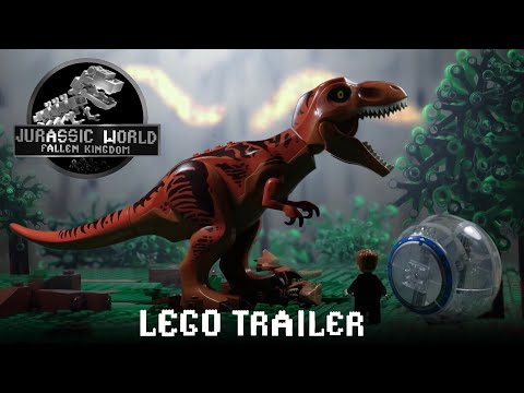 Download Youtube: Jurassic World Fallen Kingdom Trailer in LEGO