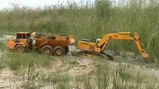 VIDEO 51   Schlammbaggern Teil 1- Muddy dredging part 1.wmv