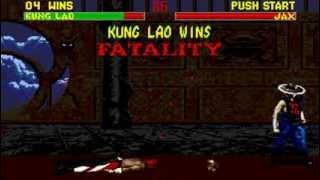 Mortal Kombat 2 Kung Lao