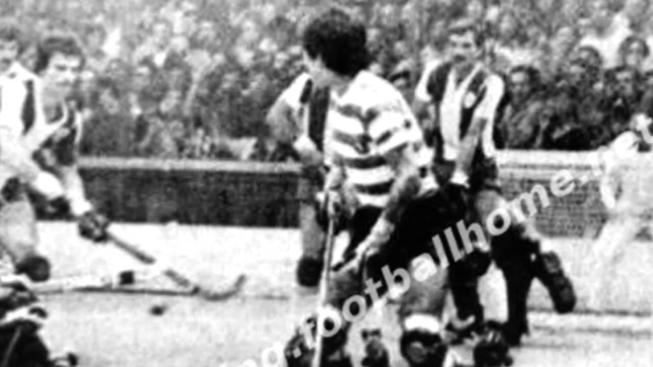 Hoquei Patins :: Sporting - 5 x Porto - 4 de 1978/1979 Taça de Portugal, 1/4 Final 1ªmão (resumo relato)