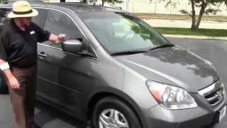 Used 2007 Honda Odyssey EX-L for sale at Honda Cars of Bellevue...an Omaha Honda Dealer!