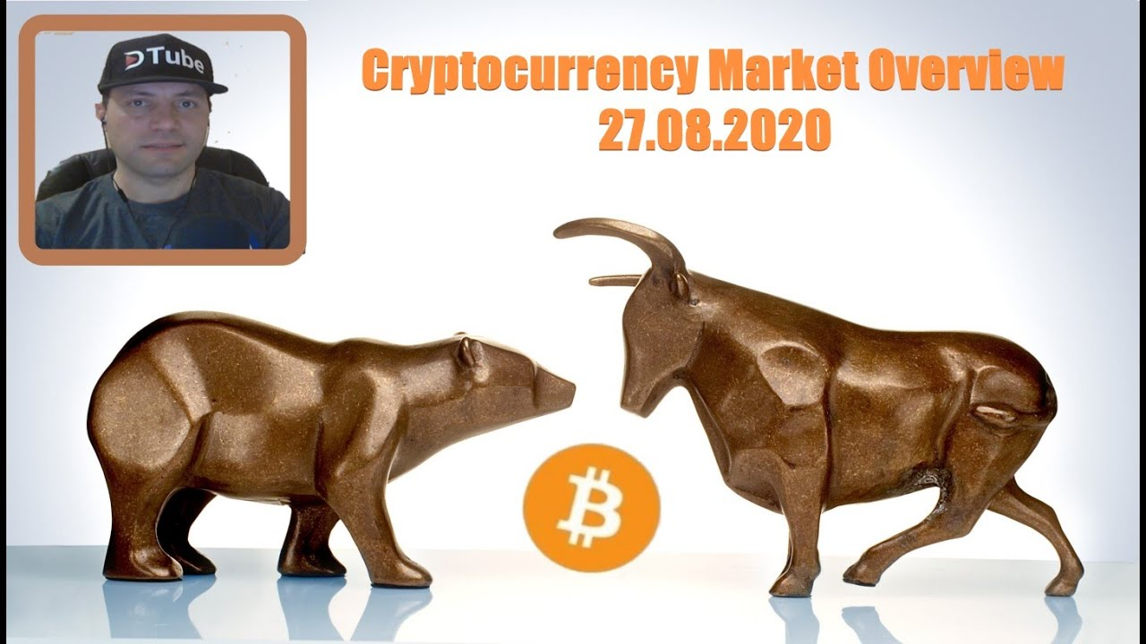 Cryptocurrency Market Overview (EN) | 27.08.2020 by @cryptospa