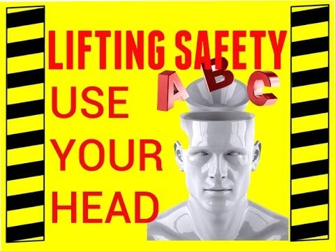 Back Safety: Lifting Safety Use Your Head Back Injury Prevention Safety Video