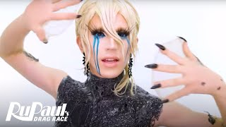 Aquaria's 'Oil-Spill Mermaid Lewk' Makeup Tutorial 💄 | RuPaul's Drag Race Season 10
