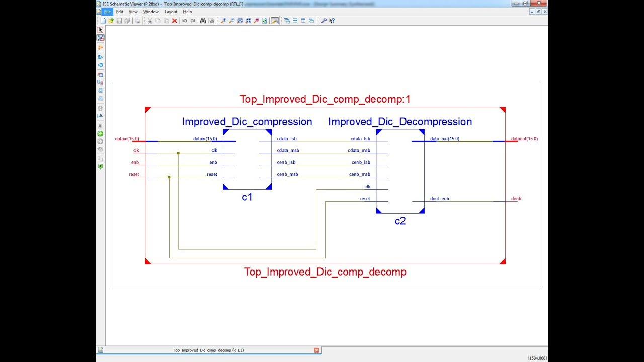 MODELING AND SIMULATION OF TEST DATA COMPRESSION USING VERILOG