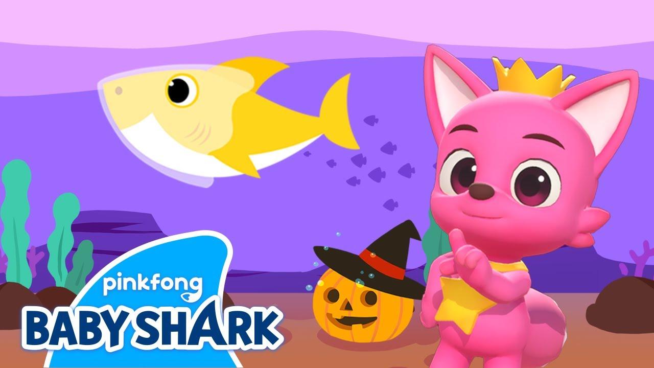 Halloween Sharks (3D Dance Version) | Halloween Shark Family | Holiday Special | Baby Shark Official