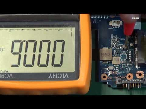 Lenovo G505 short circuit. Advanced mainboard repair