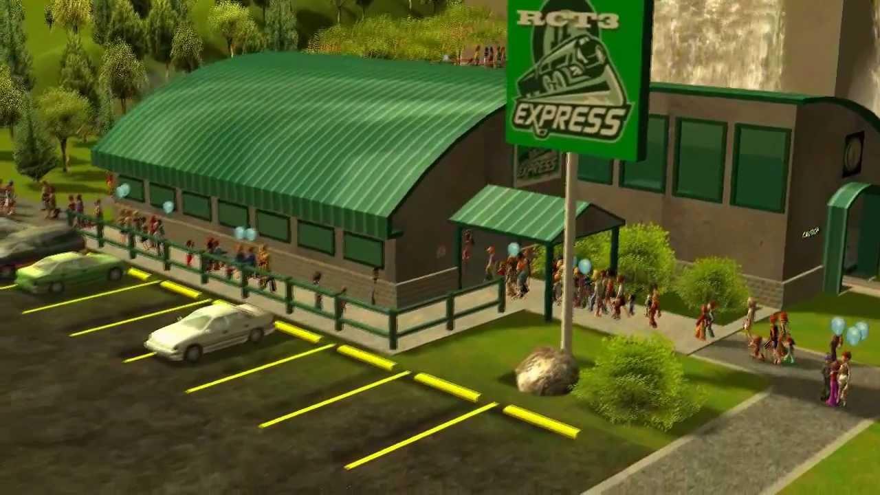 RCT3 - Custom Train Station
