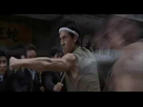 Kung Fu Hustle Three Heroes Fight Scene