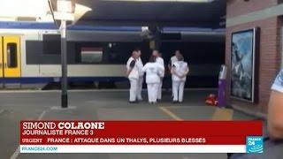 """Attaque dans un Thalys : """"L"""