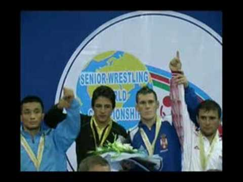 Hamid Sourian, World Wrestling Champion