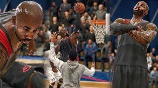 SICKEST PUTBACK DUNK & STEP BACK SHOT IN LIVE RUN HISTORY! NBA Live 18 Live Run Gameplay Ep. 17