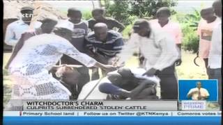 Suspected thieves surrender after witchdoctor