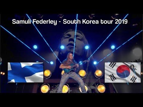 Samuli Federley - Korea Tour Documentary 2019