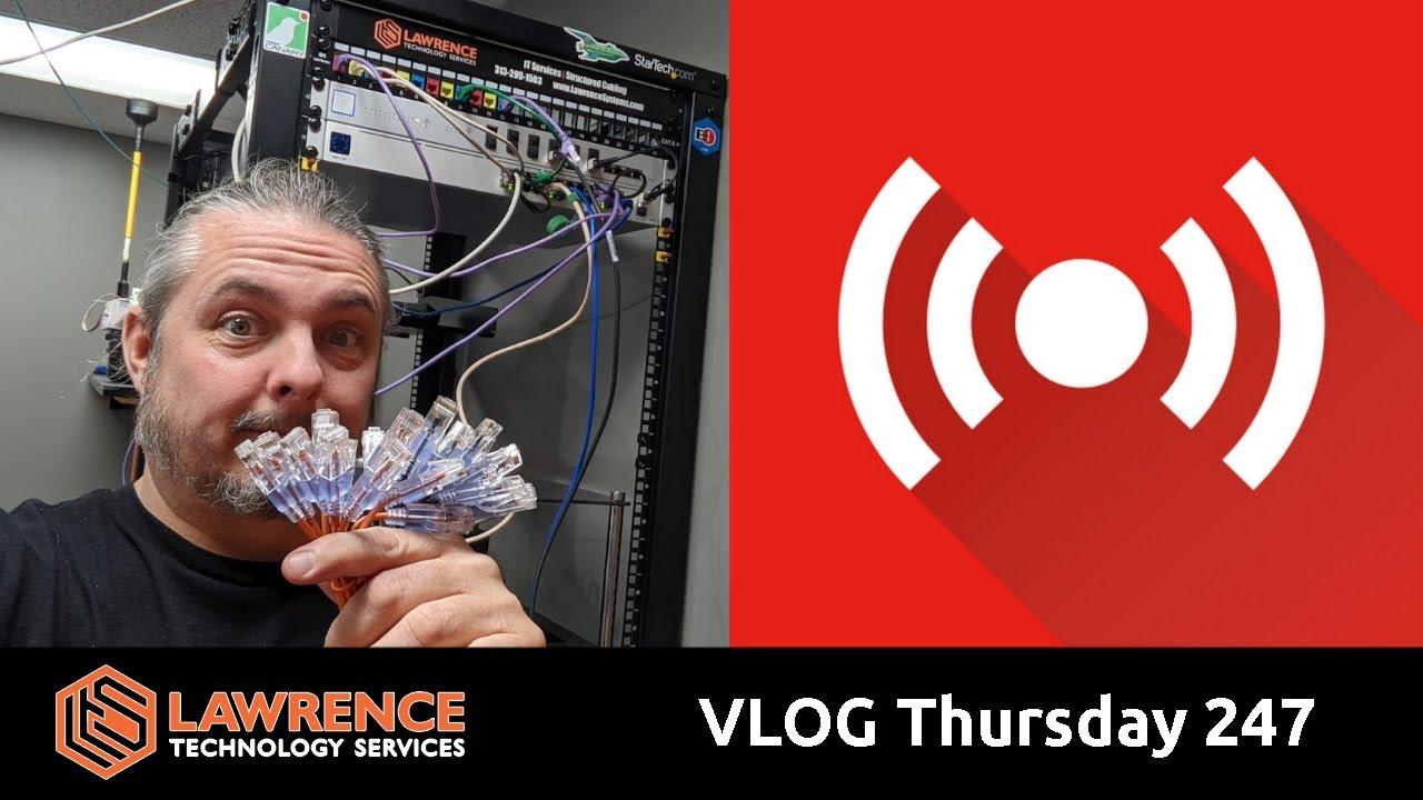 VLOG Thursday 247: Graylog, Synology, Storage, and Business Talk