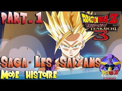 [Ep.1] Mode histoire [100%] Dragon Ball Z Budokai Tenkaichi 3 | Les Saiyans